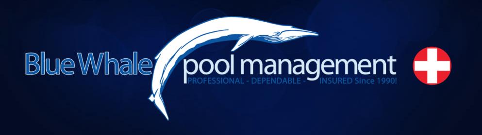 Blue Whale Pool Pro Logo